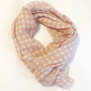 Like New: J.Crew Light Pink Scarf